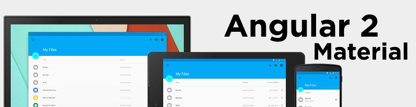 Angular 2 Material Replacing Bootstrap – Towfeek Solutions AB